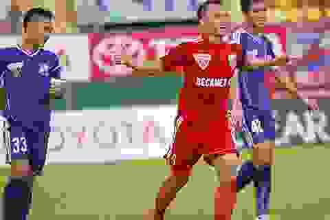 Thắng Đồng Nai, B.Bình Dương trở lại ngôi đầu bảng V-League