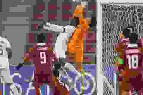 U23 Thái Lan hòa Saudi Arabia trong thế trận ngang cơ