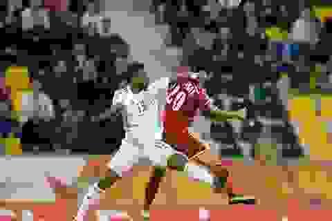 Jordan hòa UAE, U23 Việt Nam chính thức bị loại