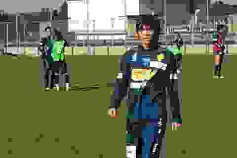 Tuấn Anh đã khoác áo CLB Yokohama FC