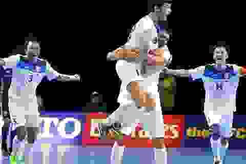 Tiếp tục thua sốc Kyrgyzstan, futsal Nhật Bản mất vé đến World Cup