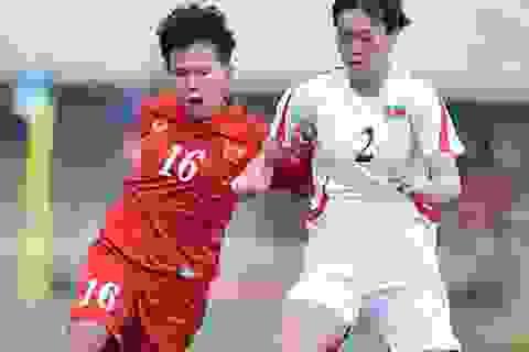 Đội tuyển nữ Việt Nam thua sát nút CHDCND Triều Tiên