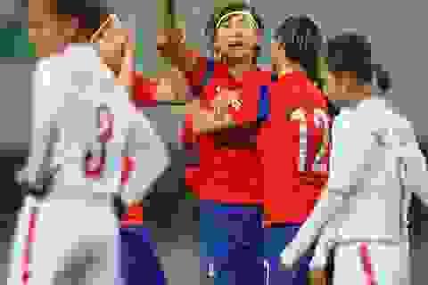 Bóng đá nữ Việt Nam chia tay vòng loại Olympic bằng trận thua Hàn Quốc