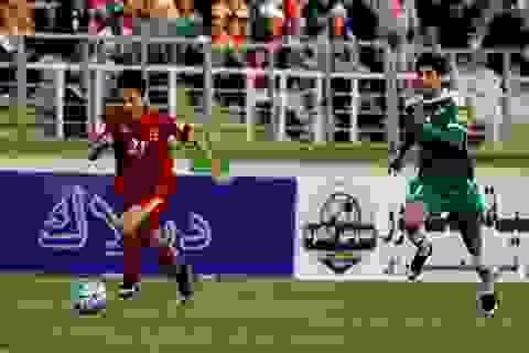 Đội tuyển Việt Nam được nhiều hơn mất sau trận thua Iraq