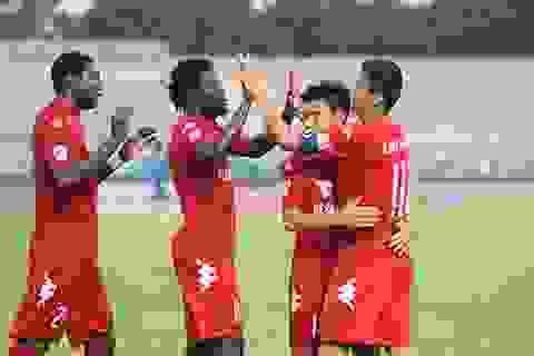 B.Bình Dương hứa không buông xuôi ở trận đấu cuối cúp C1 châu Á