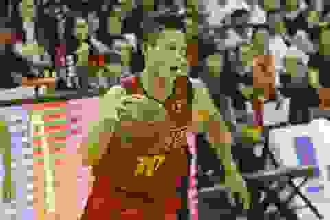 Cựu Á quân Taekwondo Asiad Nguyễn Văn Hùng bất ngờ thi đấu bóng rổ nhà nghề