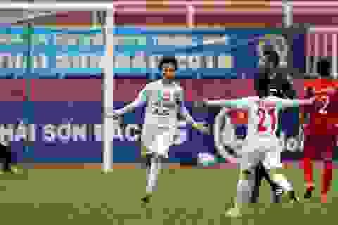 Vượt qua Hà Nam, Hà Nội vững ngồi đầu giải bóng đá nữ quốc gia