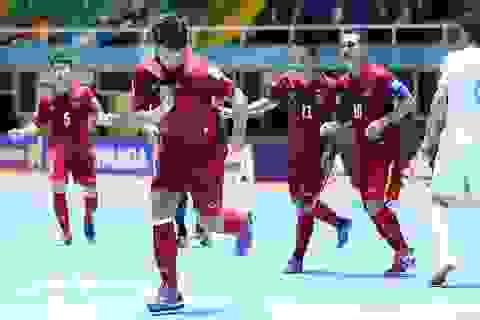 Đội tuyển futsal Việt Nam - Italia: Mục tiêu 1 điểm có khả thi?