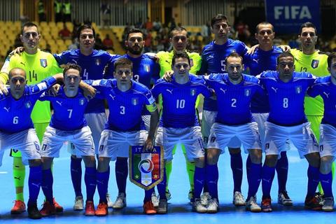 Tuyển futsal Italia dự World Cup 2016 với 10 cầu thủ từng sang Việt Nam