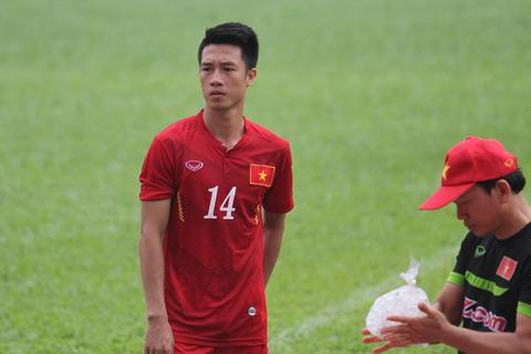 Đội tuyển Việt Nam mất Huy Hùng ở trận đấu với Triều Tiên