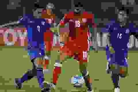 U19 Thái Lan thua cả 3 trận ở vòng bảng giải châu Á