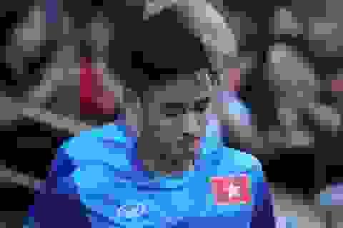 Vũ Minh Tuấn vắng mặt ở trận bán kết lượt đi gặp Indonesia