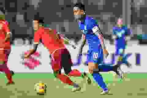Thái Lan có nguy cơ mất Dangda ở trận chung kết lượt đi AFF Cup 2016