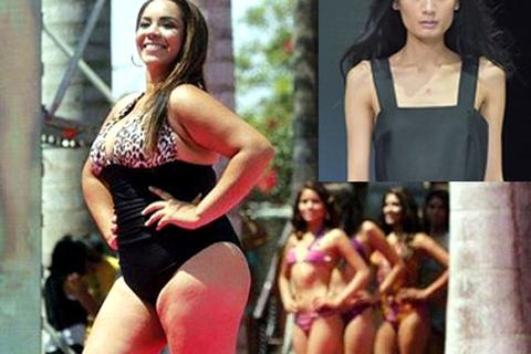 Sàn catwalk có thật sự dành cho người mẫu béo?