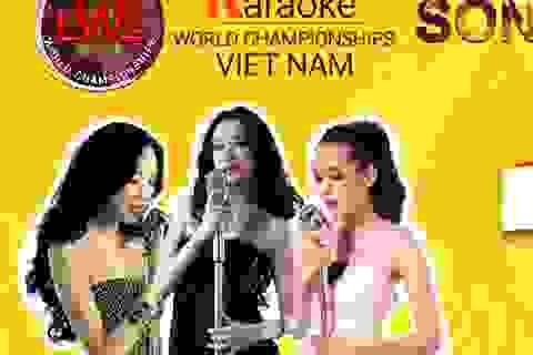 """""""Karaoke World Championships Việt Nam"""" tiết lộ dàn Ban giám khảo """"khủng"""""""