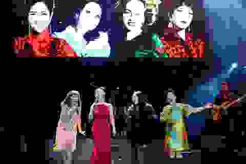 Khoảnh khắc ấn tượng của 4 Diva nhạc Việt trên sân khấu