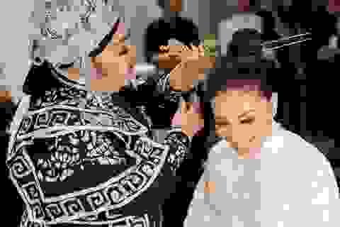 Hoa hậu Phạm Hương đưa cải lương lên sàn diễn thời trang