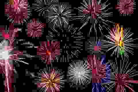 Chào năm mới: Pháo hoa sẽ bung nở trên bầu trời TP HCM và Đà Nẵng