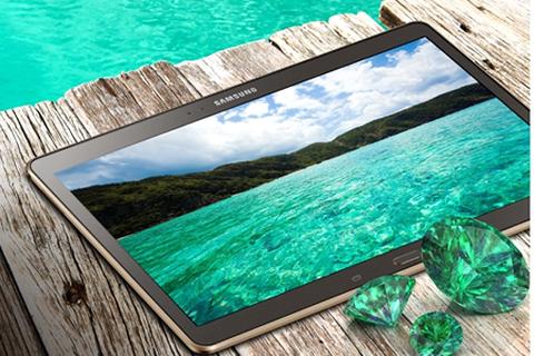 """Samsung Galaxy Tab S - đối thủ """"nặng ký"""" của iPad Air !?"""