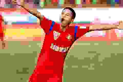 Lập hattrick vào lưới HA Gia Lai, Lê Văn Thắng dẫn đầu danh sách ghi bàn