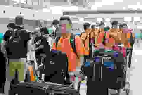 Olympic Việt Nam rời TPHCM, hướng về vòng loại châu Á