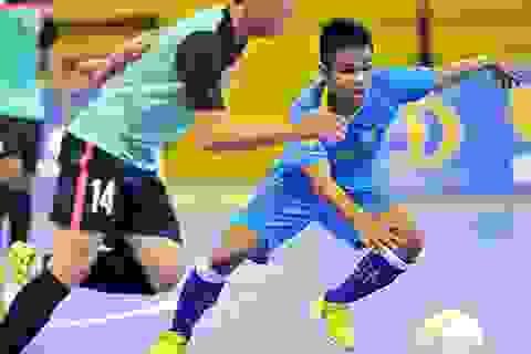 Sanna Khánh Hòa vẫn ở ngôi đầu bảng giải futsal quốc gia 2015