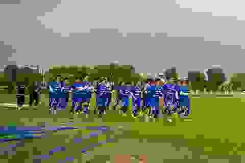 Đội tuyển nữ Việt Nam miệt mài tập luyện tại TPHCM
