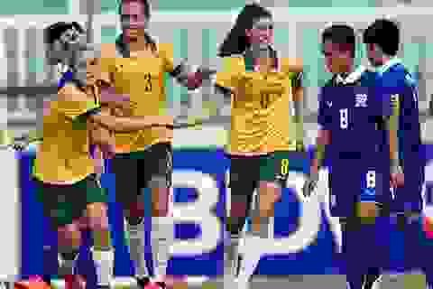 Thái Lan thua đậm trận đầu tại giải bóng đá nữ Đông Nam Á