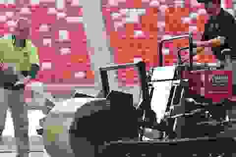 U23 Việt Nam gặp khó khi sân quốc gia Singapore thay cỏ nhân tạo