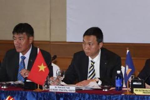 Bóng đá Việt Nam có cơ hội tái tranh cử phó chủ tịch AFF