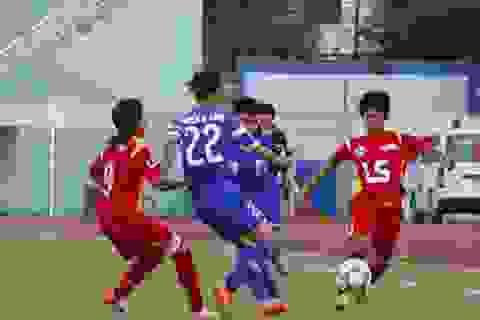 Thắng Thái Nguyên, TPHCM đến sát ngôi vô địch bóng đá nữ quốc gia 2015