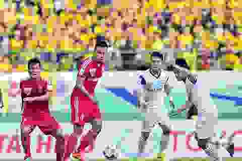 Vòng 16 V-League 2015: Nóng bỏng cuộc đua giành ngôi đầu