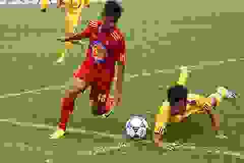 Quảng Ngãi tạo bất ngờ tại VCK giải bóng đá U17 quốc gia 2015
