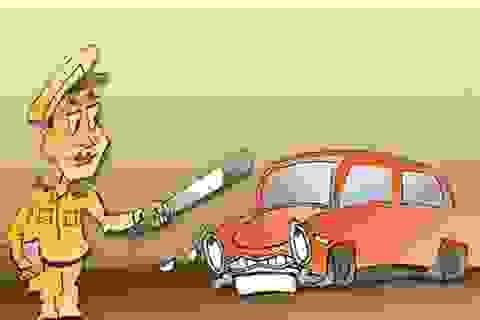 """""""Gài bẫy"""" vi phạm để buộc lái xe """"làm luật""""?"""
