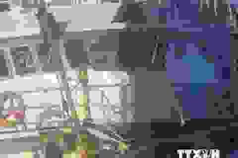 Kết nạp đảng cho cán bộ thông tin ngay trên tàu khi đang bám trụ ở khu vực giàn khoan trái phép