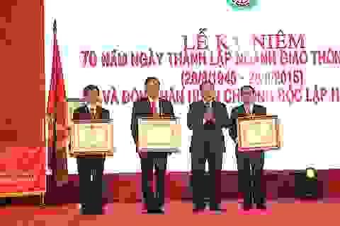 Sở GTVT Nghệ An đón nhận Huân chương Độc lập hạng Nhì