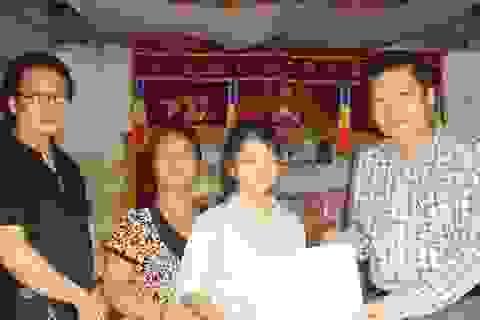 Gần 190 triệu đồng đến với gia đình chị Nguyễn Thị Nga