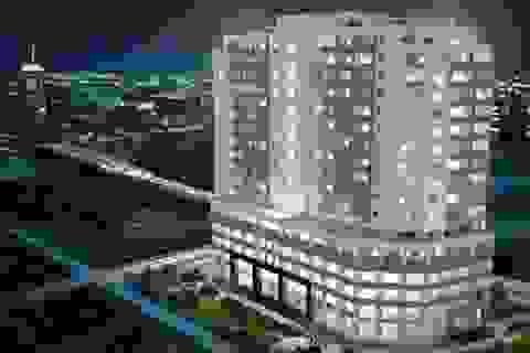Diamond Blue – Căn hộ trung tâm Thủ đô bàn giao nhà cuối 2015, tặng tivi 42 inch