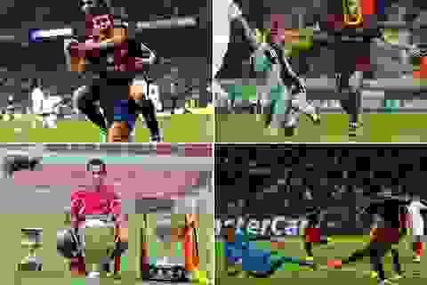 Chùm ảnh: Sự nghiệp lẫy lừng của Pedro trong màu áo Barca