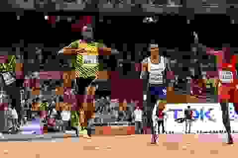 Đánh bại Galtin, Usain Bolt bảo vệ thành công tấm HCV 200m