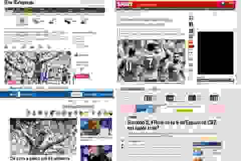 Báo giới quốc tế hết lời tán dương C.Ronaldo