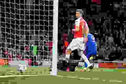 Arsenal 2-3 Olympiakos: Thầy trò Wenger đứng trước nguy cơ bị loại