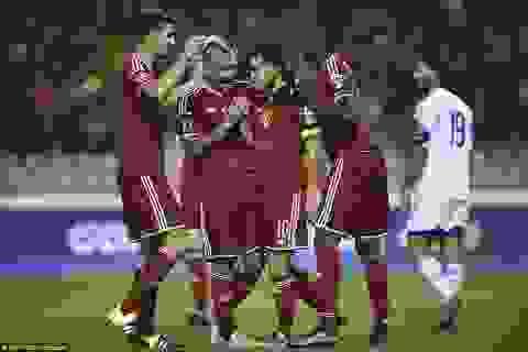 Bảng xếp hạng FIFA tháng 10/2015: Bỉ lên số 1, vượt mặt Đức, Argentina