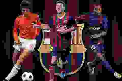 Cruyff, Ronaldinho và Messi thay đổi lịch sử Barca