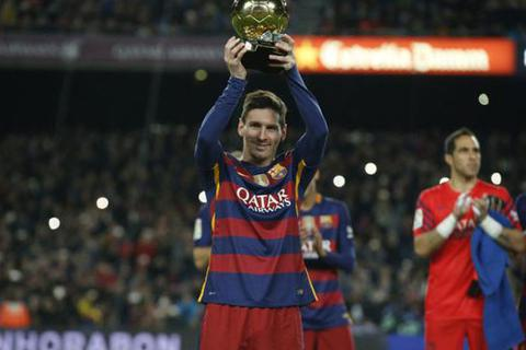Barca nhận tin vui từ Lionel Messi