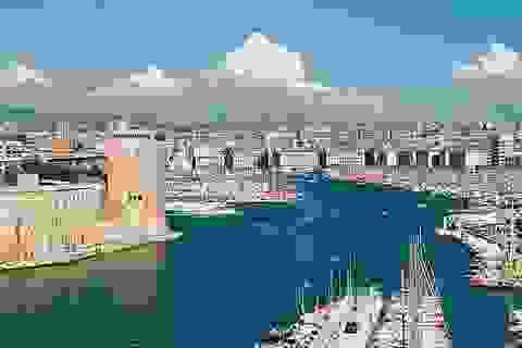 Thăm thành phố cảng Marseille trước giờ trận Pháp - Albania