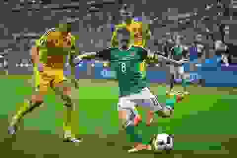 Video clip bàn thắng và tình huống trận Bắc Ireland 2-0 Ukraine