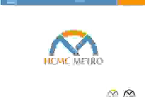 Logo hệ thống metro TPHCM có hình búp sen
