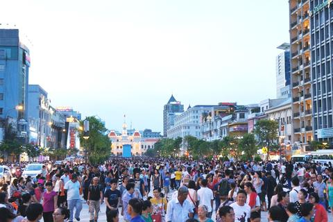 TPHCM: Đề xuất thành lập Ban quản lý phố đi bộ Nguyễn Huệ