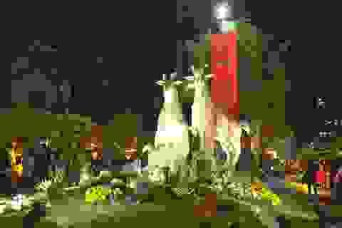 TPHCM chuyển đường hoa Tết về lại đường Nguyễn Huệ